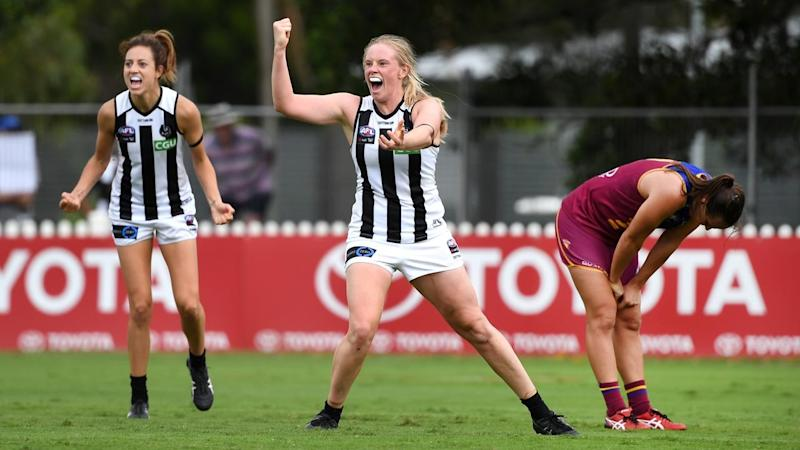 AFLW LIONS MAGPIES