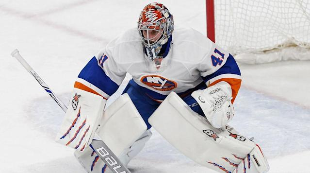 NEW YORK (AP) The New York Islanders have recalled veteran goalie Jaroslav Halak for their push for a playoff spot.