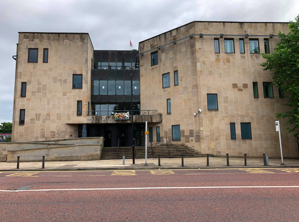 Mohammed Khan pleaded guilty to possession of a weapon at Bolton Crown Court. (Reach)