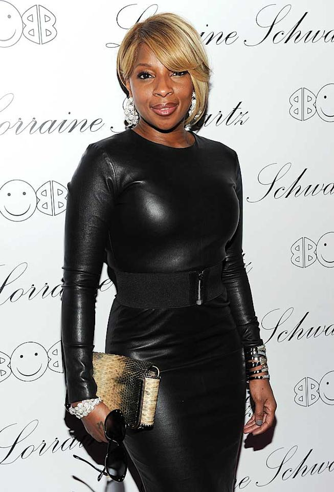 "January 11: Mary J. Blige turns 40 Dimitrios Kambouris/<a href=""http://www.wireimage.com"" target=""new"">WireImage.com</a> - November 22, 2010"