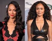 """<p>The two actor shave starred in numerous blockbuster hits between them like Avatar, Westworld, The Pursuit of Happiness and Guardians of the Galaxy. </p><p>But their stand out performances don't seem to have stopped Saldana's own mum from getting the pair mixed up.</p><p> The actor explained in <a href=""""https://www.youtube.com/watch?v=nyL2_kUH1Bw"""" rel=""""nofollow noopener"""" target=""""_blank"""" data-ylk=""""slk:an interview on The Late Late Show in"""" class=""""link rapid-noclick-resp"""">an interview on The Late Late Show in </a>2019: 'My mom still thinks that I'm in Westworld. I'm like, """"years ago you thought that I was in Traffic"""". Mom, you did not give birth to Thandie Newton.'</p>"""