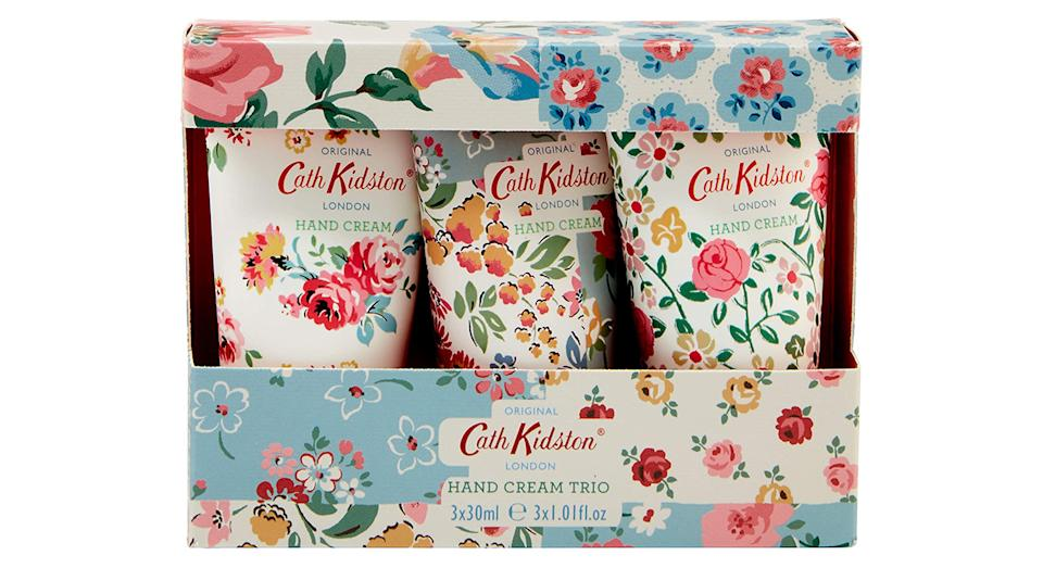 Cath Kidston Cottage Patchwork Hand Cream Trio Gift Box Travel Size