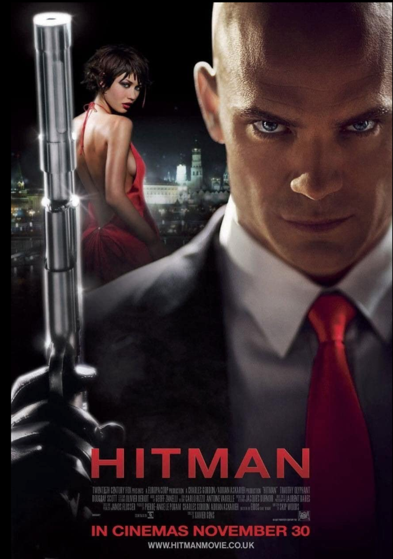 "<p>Going into the film, many were unsure how the film would bring Agent 47 to life, but Timothy Olyphant pulls it off. If the film wasn't based on existent source material, we may just call it a decent action movie. The fact that it's both a decent action movie and one based on a video game makes it a very good action movie. </p><p><a class=""link rapid-noclick-resp"" href=""https://www.amazon.com/Hitman-Timothy-Olyphant/dp/B0013AT6EC/ref=sr_1_1?dchild=1&keywords=Hitman&qid=1617721936&s=instant-video&sr=1-1&tag=syn-yahoo-20&ascsubtag=%5Bartid%7C2139.g.36026663%5Bsrc%7Cyahoo-us"" rel=""nofollow noopener"" target=""_blank"" data-ylk=""slk:STREAM IT HERE"">STREAM IT HERE</a></p>"