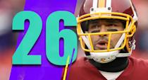 <p>Not only were the Redskins down 40-0 to the Giants, it was a Giants team without Odell Beckham. The good news is this week the Redskins get to face the Jaguars, who might be the least motivated team in the NFL. (Mark Sanchez) </p>
