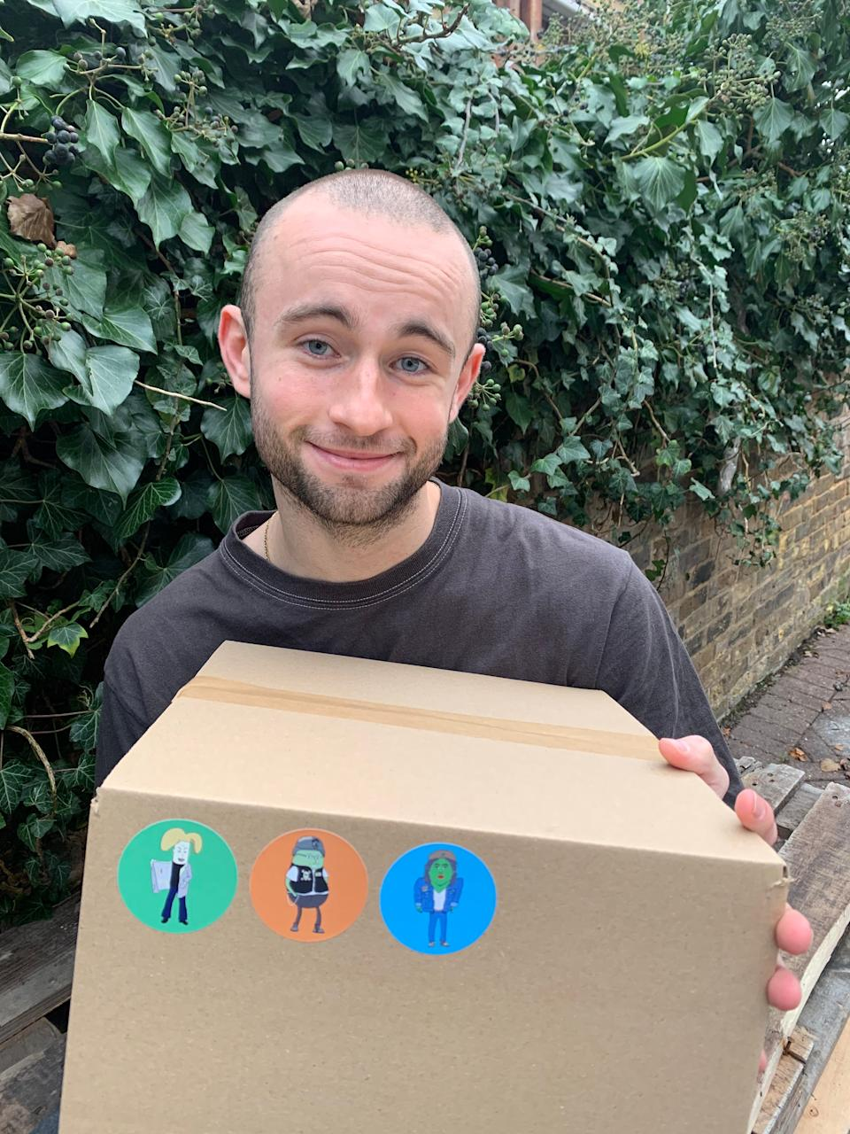 <p>Pot Gang sends out a monthly box of different types of seeds for people to plant, along with instructions, pots and compost</p>Sam Smith