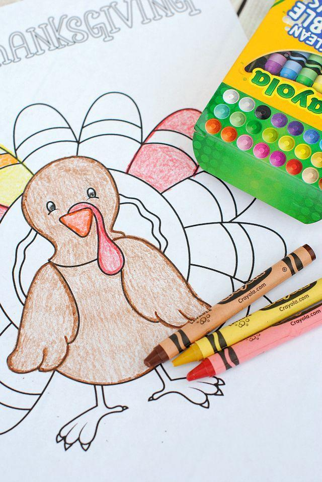 "<p>These Thanksgiving-themed coloring pages cost next to nothing to prepare thanks to this blogger's free set of printables. Set them out with crayons and consider your prep work done.</p><p><strong>Get the tutorial at <a href=""https://crazylittleprojects.com/thanksgiving-coloring-pages/"" rel=""nofollow noopener"" target=""_blank"" data-ylk=""slk:Crazy Little Projects"" class=""link rapid-noclick-resp"">Crazy Little Projects</a>.</strong><br></p><p><a class=""link rapid-noclick-resp"" href=""https://www.amazon.com/Crayola-PACK-64-Crayons-52-0064/dp/B00OQJEDUE/?tag=syn-yahoo-20&ascsubtag=%5Bartid%7C10050.g.1201%5Bsrc%7Cyahoo-us"" rel=""nofollow noopener"" target=""_blank"" data-ylk=""slk:SHOP CRAYONS"">SHOP CRAYONS</a></p>"