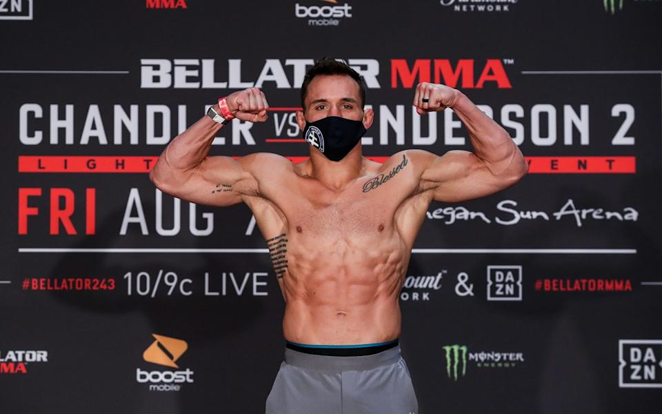 Michael Chandler primed for his second encounter with Benson Henderson  - Bellator/Bellator