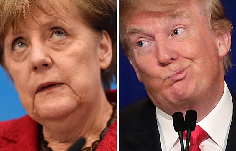 With fears growing in Europe over Donald Trump's commitment to the transatlantic alliance and over signs he will pivot towards Russia, German Chancellor Angela Merkel warns that Europe now has to take responsibility for itself