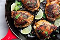 """<p>So delish if you throw it on the grill.</p><p>Get the recipe from <a href=""""https://www.delish.com/cooking/recipe-ideas/recipes/a48247/cilantro-lime-chicken-recipe/"""" rel=""""nofollow noopener"""" target=""""_blank"""" data-ylk=""""slk:Delish"""" class=""""link rapid-noclick-resp"""">Delish</a>.</p>"""
