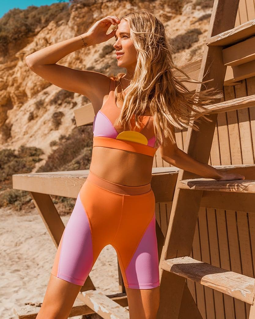 <p>How fun is this <span>L*SPACE Sunburst Bra</span> ($99)? It's the perfect summer design - make sure to check out the matching bike shorts as well.</p>