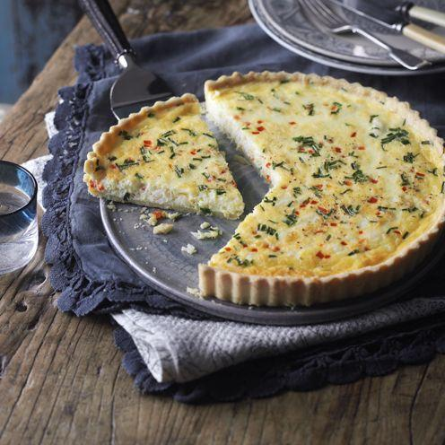 """<p>We've used tinned crab to save some pennies, but use fresh white crab meat instead, if you prefer.</p><p><strong>Recipe: <a href=""""https://www.goodhousekeeping.com/uk/food/recipes/a535039/crab-quiche/"""" rel=""""nofollow noopener"""" target=""""_blank"""" data-ylk=""""slk:Crab quiche"""" class=""""link rapid-noclick-resp"""">Crab quiche</a></strong></p>"""