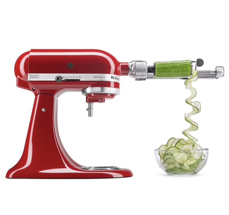KitchenAid 5 Blade Core & Slice Spiralizer with Peel. (Photo: Walmart)