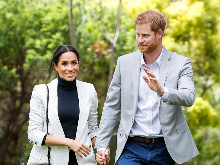 Meghan and Harry's trip to South Africa cost £245,000Getty Images