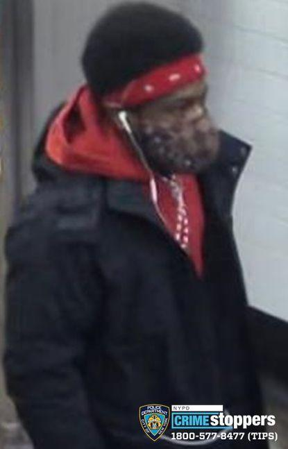 Photo of the man who allegedly attacked Quintana. Photo: New York Police Department