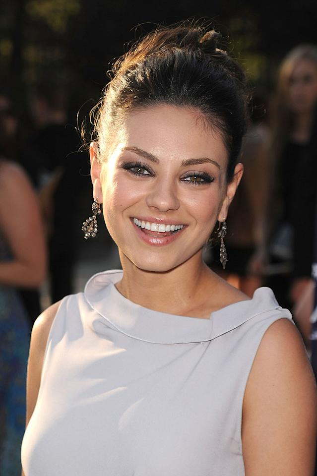 "Also toasting on August 14 is Mila Kunis. Between starring in ""Black Swan"" with Natalie Portman and ""Friends With Benefits"" with Justin Timberlake, the starlet should have a great 27th year. Jason Merritt/<a href=""http://www.gettyimages.com/"" target=""new"">GettyImages.com</a> - June 5, 2010"