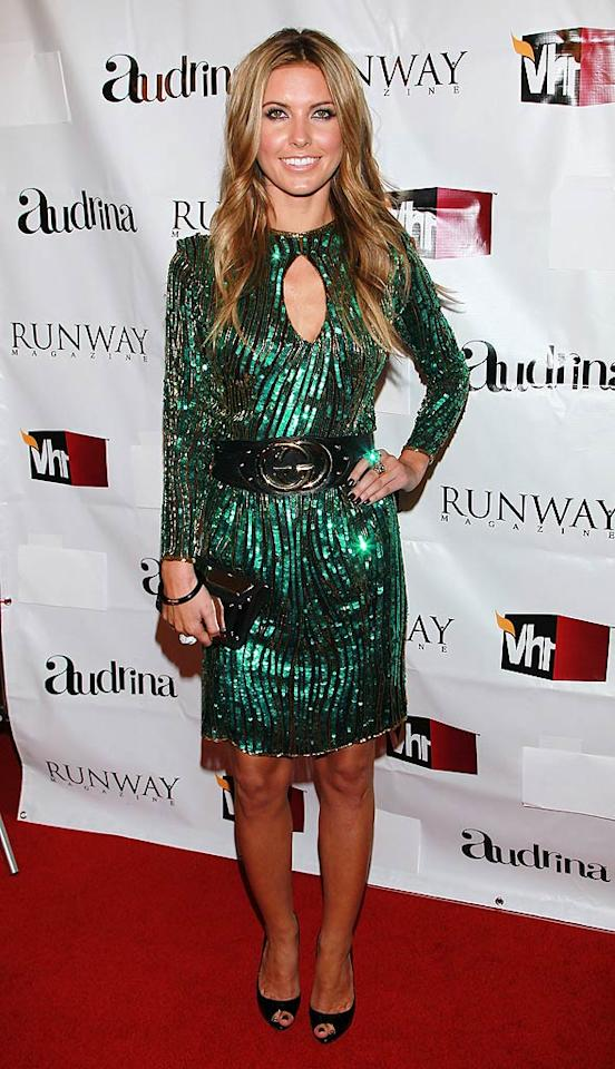 """Is it just us, or does former """"Hills"""" hottie Audrina Patridge look more prepared to shoot a catfight-infused Christmas episode of """"Dynasty"""" than to walk the red carpet at a VH1-hosted fete in Hollywood? Glam but totally outdated. David Livingston/<a href=""""http://www.gettyimages.com/"""" target=""""new"""">GettyImages.com</a> - March 23, 2011"""