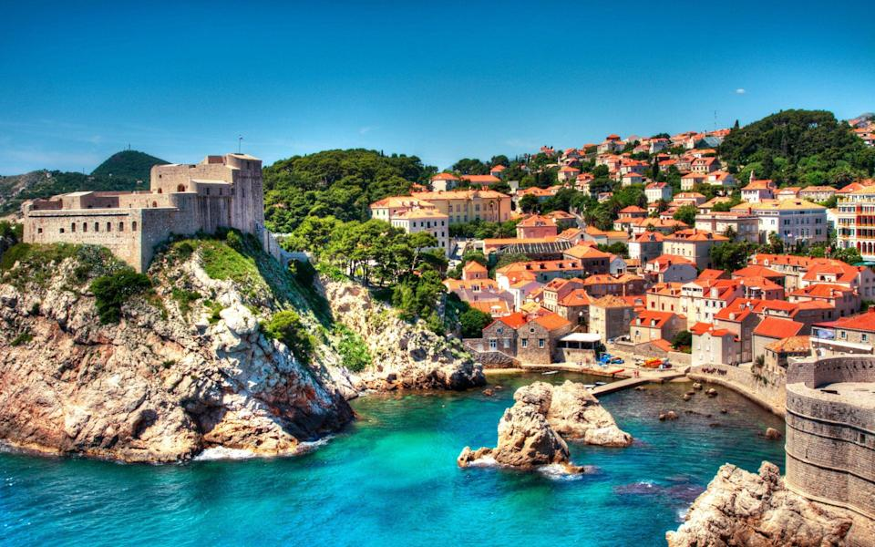 The Croatian city of Dubrovnik makes for an exciting port of call - Getty