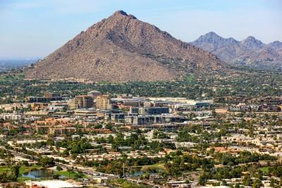 arizona, mountains, camelback, mountain, popular, green, travel, business, trees, resorts, sunny, wealth, skyline, old, recreation, elevated, shopping, climate, architecture,