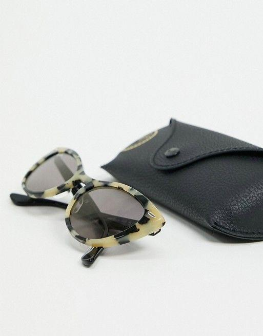 """<p><strong>Ray-Ban</strong></p><p>us.asos.com</p><p><strong>$126.40</strong></p><p><a href=""""https://go.redirectingat.com?id=74968X1596630&url=https%3A%2F%2Fwww.asos.com%2Fus%2Fray-ban%2Frayban-cat-eye-sunglasses-in-gray-marble%2Fprd%2F21172267&sref=https%3A%2F%2Fwww.thepioneerwoman.com%2Ffashion-style%2Fg36003005%2Fbest-cat-eye-sunglasses%2F"""" rel=""""nofollow noopener"""" target=""""_blank"""" data-ylk=""""slk:Shop Now"""" class=""""link rapid-noclick-resp"""">Shop Now</a></p><p>Cat eye sunglasses have been in style for so long, and they're not going anywhere. Invest in the look for the long haul with these sturdy Ray-Bans. </p>"""