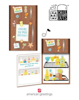 Make Birthdays Extra Cool With New Chill OutsTM Cards From American Greetings