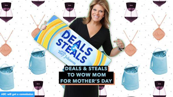 PHOTO: Deals & Steals to wow Mom for Mother's Day (GMA, ABC News Photo Illustration, Corkcicle, Lulu DK, Ullo)