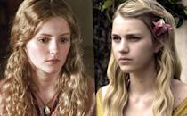 "<p><b>Original:</b> Aimee Richardson (Seasons 1-2)</p><p><b>Recast:</b> Nell Tiger Free (Season 5-6)</p><p>Myrcella made a few, very brief appearances before being shipped off to Dorne. The show decided to replace Richardson with Free for Myrcella's expanded storyline. Richardson reacted in the best way possible, posting this <a href=""https://vine.co/v/M0LJpJpgQ3I"" rel=""nofollow noopener"" target=""_blank"" data-ylk=""slk:funny, cute Vine."" class=""link rapid-noclick-resp"">funny, cute Vine.</a></p><p><i>(Credit: HBO)</i></p>"