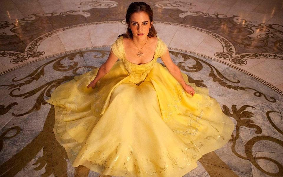Emma Watson as Belle in 2017's Beauty and the Beast - Laurie Sparham
