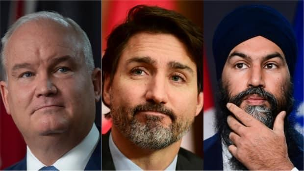 Trudeau, O'Toole vow to work with Trump, while Singh calls on Americans to vote him out