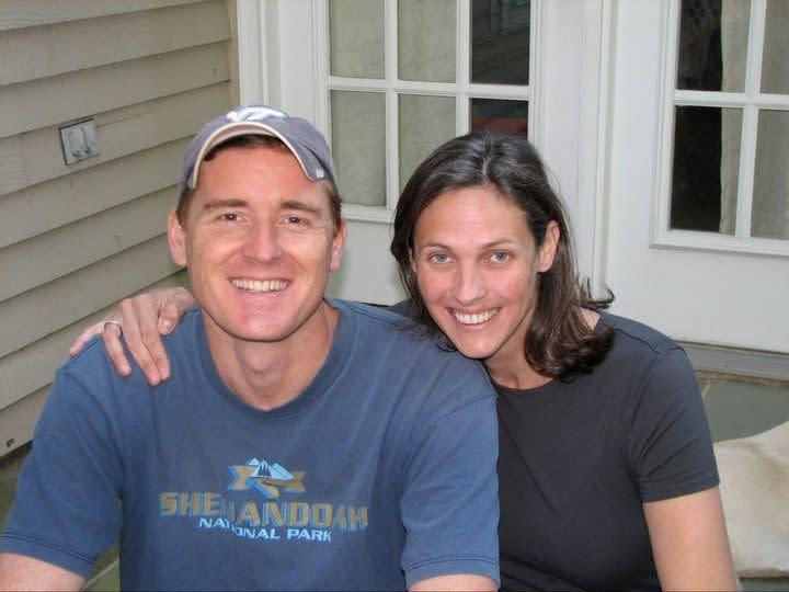 Scott Fricker and Buckley Kuhn-Fricker were shot and killed aftertrying toseparate their daughter from her boyfriend. (Photo: Buckley Kuhn Fricker/ Facebook)