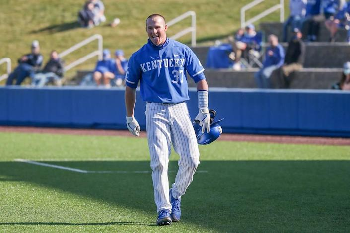 Former Scott County High School star Cam Hill is among multiple Kentucky baseball players who've entered the transfer portal. Hill has committed to Stetson University.