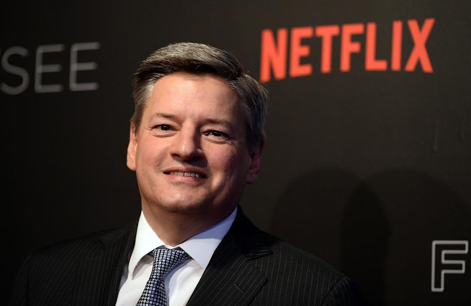 "BEVERLY HILLS, CA - MAY 08: Netflix Chief Content Officer Ted Sarandos arrives at Netflix's ""House Of Cards"" For Your Consideration Event at the Netflix FYSee Space on May 8, 2017 in Beverly Hills, California. (Photo by Amanda Edwards/WireImage)"