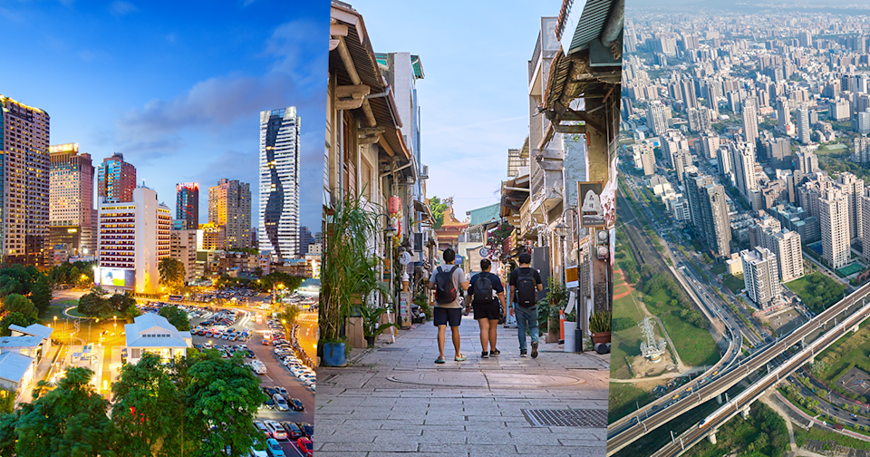 From left, Authorities in Taichung, Tainan and Hsinchu have already expressed interest in signing a twinning agreement with Oxford City. (Shutterstock)