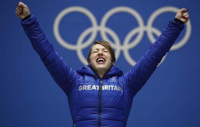 <p>While Great Britain does not have a medal bonus for its athletes, it allocates £125 million ($165 million USD) from the national lottery and government funding to Olympic and Paralympic sports each year.<br>Lizzy Yarnold defended her skelton title at the Pyenongchang Games, taking home another gold. (REUTERS/Kim Hong-Ji) </p>