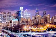 "<p>Philly is a vibrant, down-to-earth city and, best of all, home to the cheesesteak. Between exploring Rittenhouse Square and checking out the live music scene, there's no way you can be bored in this city. The <a href=""http://www.marriott.com/hotels/travel/phlwh-w-philadelphia/"" class=""link rapid-noclick-resp"" rel=""nofollow noopener"" target=""_blank"" data-ylk=""slk:W Philadelphia"">W Philadelphia</a> is just steps away from the city center and offers high-tech amenities for travelers.</p>"