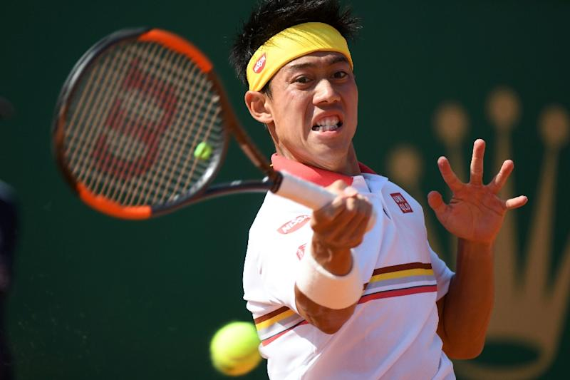 Kei Nishikori came from a set down to beat Zverev and reach his fourth Masters final