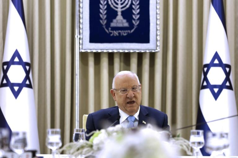Israeli President Reuven Rivlin has made clear to both Netanyahu's right-wing Likud party and Benny Gantz's centrist Blue and White that he wants at all costs to avoid a fresh do-over election (AFP Photo/MENAHEM KAHANA)
