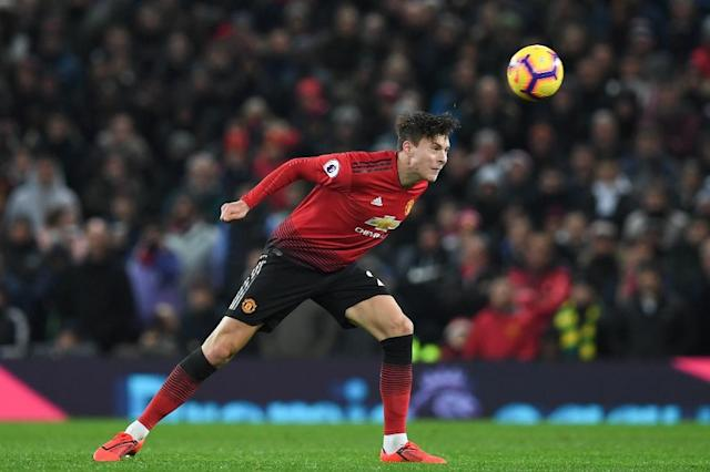 Solid Swede: Victor Lindelof has been a bedrock of Ole Gunnar Solskjaer's Manchester United defence (AFP Photo/Paul ELLIS)