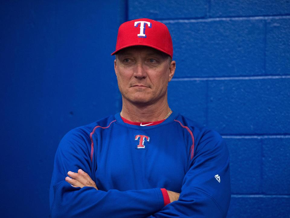 Jeff Banister managed the Rangers from 2015-18.