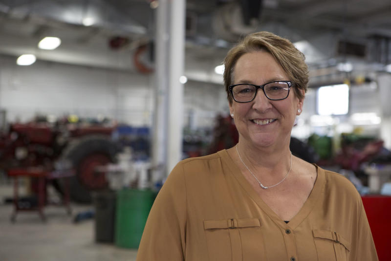Democrat Patty Schactner won a special election for a state Senate seat in Wisconsin Tuesday, scoring a huge upset victory for her party in a district that President Donald Trump handily captured just over a year ago.