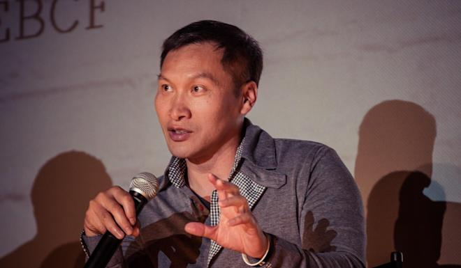 Eddy Zheng (pictured in 2019) became a US citizen in 2017. Photo: East Bay Community Foundation