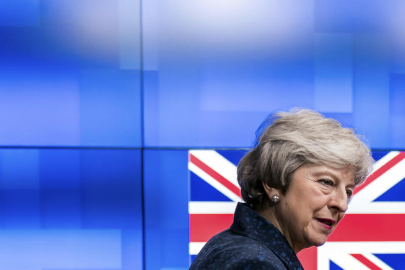 Theresa May Promises U.K. Lawmakers Brexit Vote by February  27