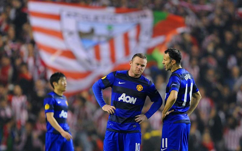 United were beaten by Marcelo Bielsa's Athletic Bilbao in the Europa League - Getty Images