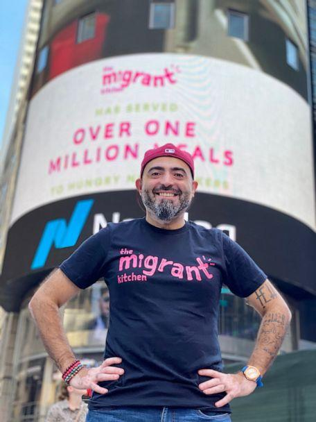 PHOTO: In this undated file photo, Nasser Jaber, co-founder of The Migrant Kitchen, is shown in New York. (The Migrant Kitchen)