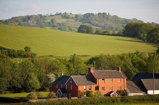 """<p>Near the town of Hay-on-Wye between The Black Mountains and The Brecon Beacons sits the Welsh pub, <a href=""""http://www.eatdrinksleep.ltd.uk/"""" rel=""""nofollow noopener"""" target=""""_blank"""" data-ylk=""""slk:The Felin Fach Griffin"""" class=""""link rapid-noclick-resp"""">The Felin Fach Griffin</a>. Looking out on rolling green fields and not far from the sea, it's the perfect place to kick back. </p><p><a href=""""https://www.instagram.com/p/B_IF-y3ImBZ/?utm_source=ig_embed&utm_campaign=loading"""" rel=""""nofollow noopener"""" target=""""_blank"""" data-ylk=""""slk:See the original post on Instagram"""" class=""""link rapid-noclick-resp"""">See the original post on Instagram</a></p>"""