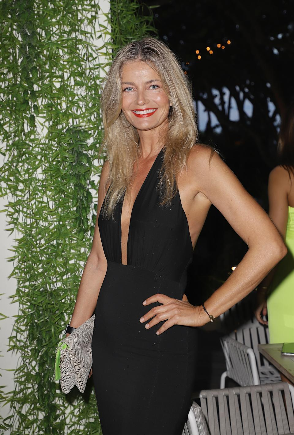 Paulina Porizkova opened up about her mental health struggles as she starts over in a new home. (Photo: John Parra/Getty Images for Sports Illustrated)