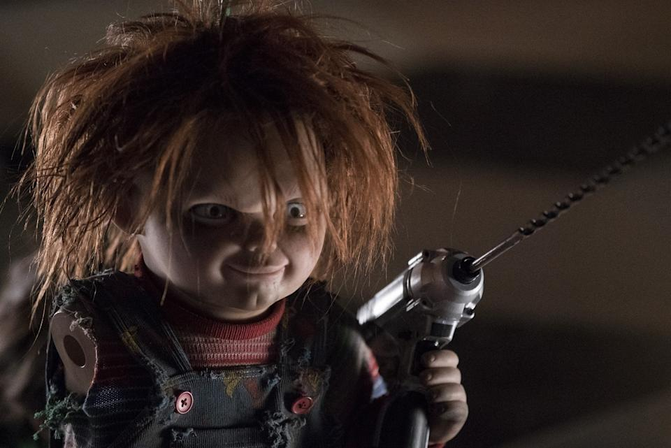 Chucky does some DIY in Cult Of Chucky (credit: Universal)