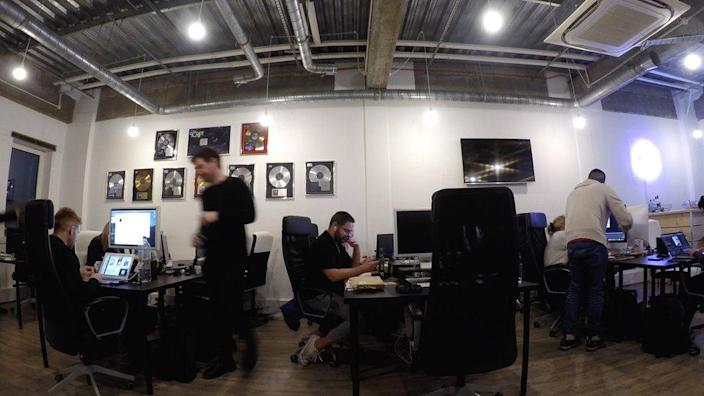Be-Hookd Digital's offices