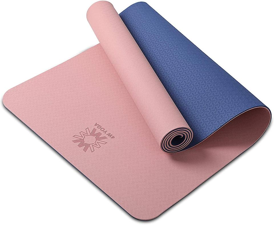 <p>Treat them to a gateway to wellness with this extra thick <span>Yoga Mat</span> ($20).</p>