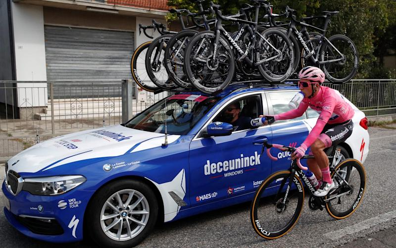 Joao Almeida (Deceuninck-Quick Step) - GETTY IMAGES