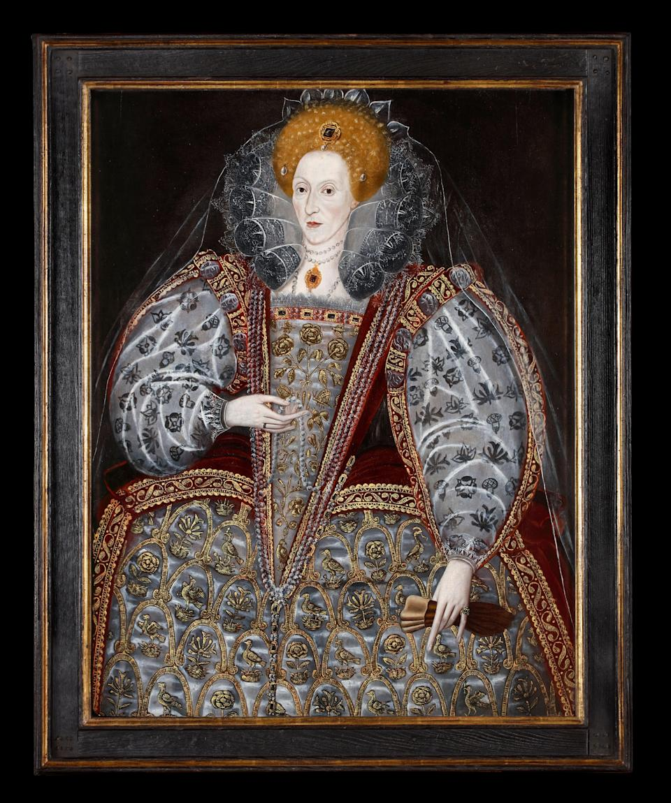Queen Elizabeth I by an unknown artist, c.1590sPhillip Mould & Company